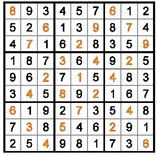 Rossini Sudoku (Fun With Sudoku #29) Solution