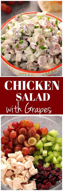 Easy Chicken Salad with Grapes Recipe