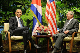 Barack Obama et Raul Castro, Habana, Havane, Cuba, Colombia, México
