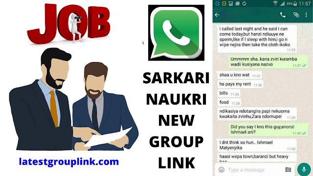 Join 60+ Sarkari Naukri Whatsapp Group Links New Update