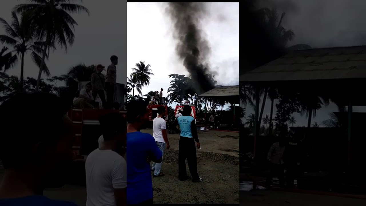 Tragedi Pool Budiman Pangandaran Kebakaran