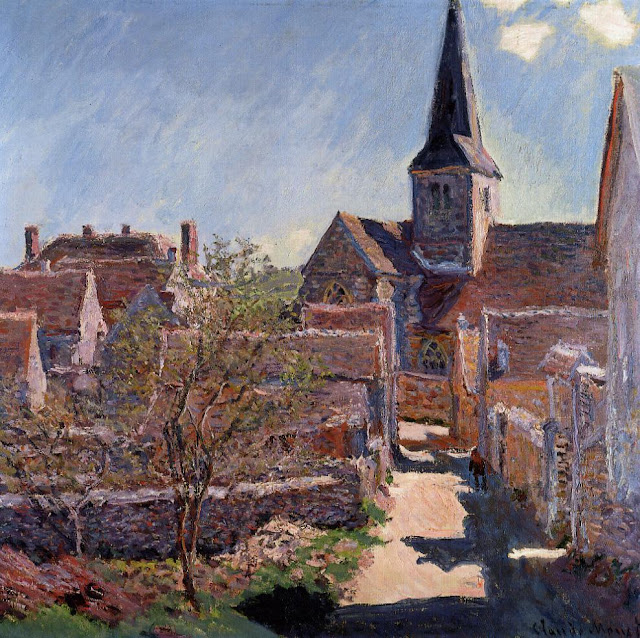 Claude Monet - Bennecourt