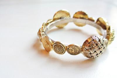 button bracelet tutorial diy bangle jewellery jewelry