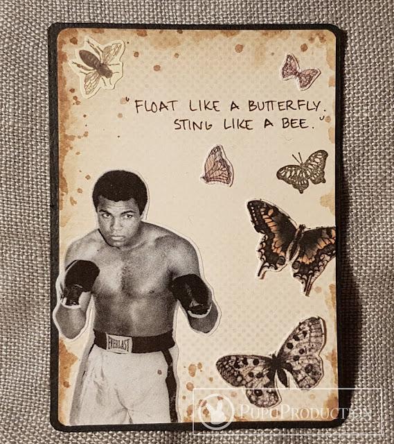 Artist Trading Card: Muhammad Ali