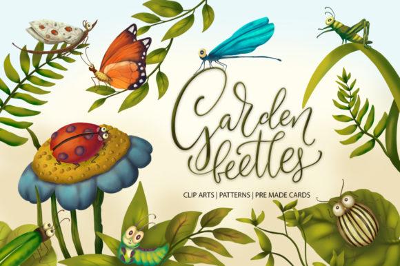 Garden Beetles Graphic Collection
