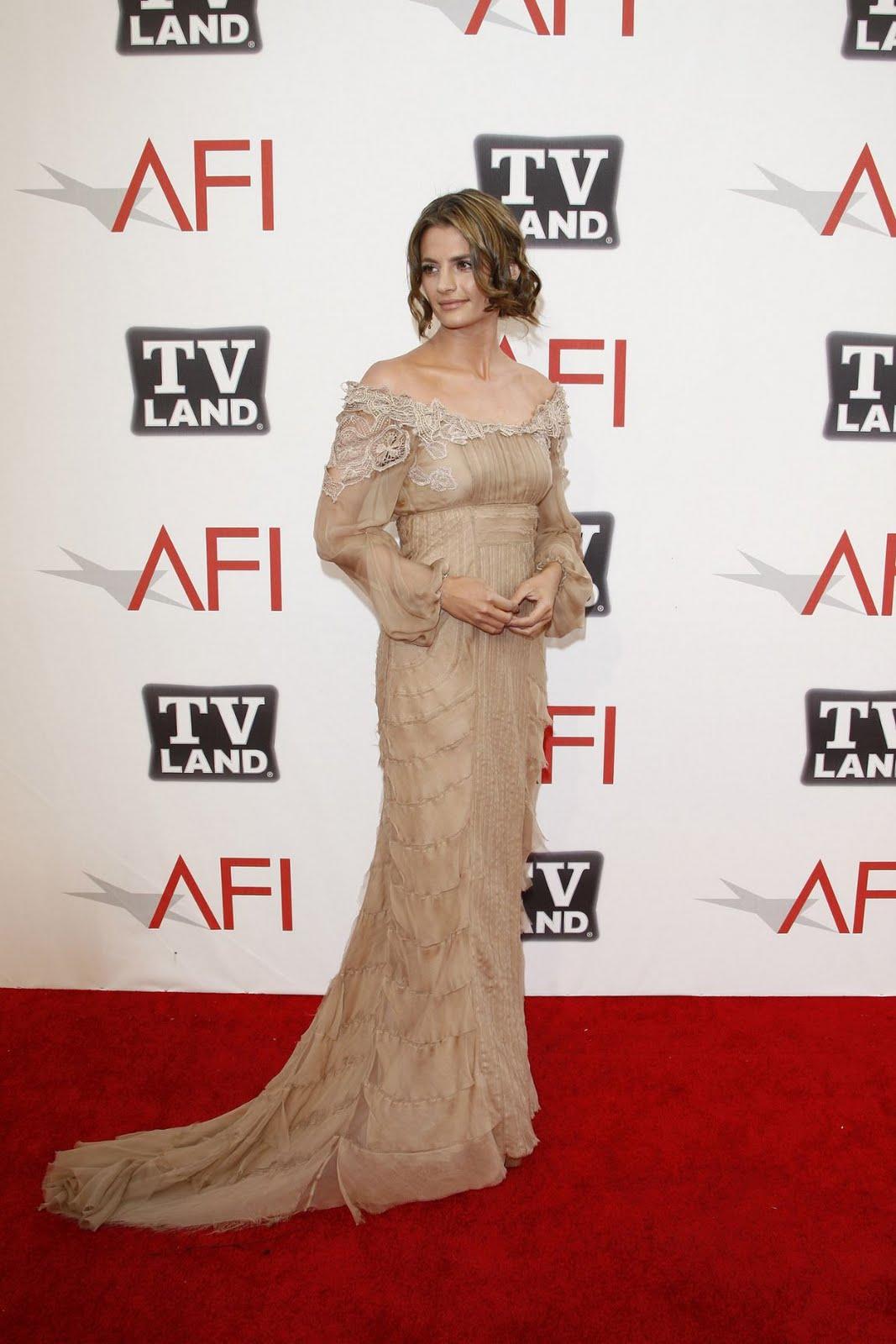 Stana Katic Photos Photos - 39th AFI Life Achievement