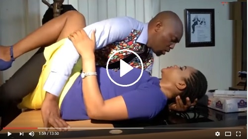 (Watch Video)-See How this Man Enj0y his Gorgeous Secretary On top of His Table