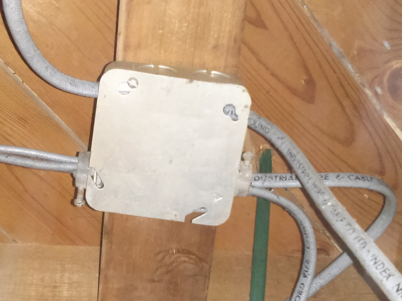 Dhiraj Dsouza April 2016 Wiring Junction Box Hidden Boxes Are A No As Per The Ontario Building Code Following Were All Behind Ceiling