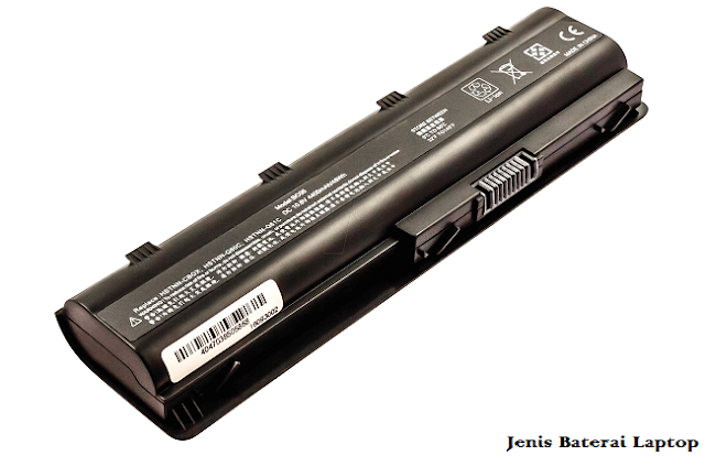cara melihat tipe baterai laptop