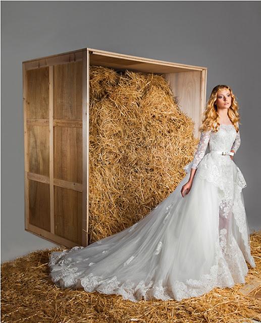 vestidos de novia sencillos para bajitas