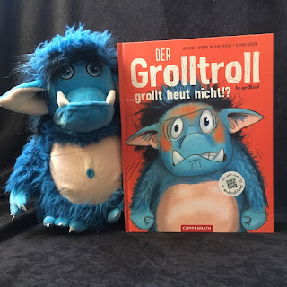Der Grolltroll … grollt heut nicht!?  Autor: Barbara van den Speulhof, Aprilkind Illustrationen: Stephan Pricken Verlag: Coppenrath
