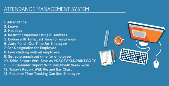 Timesheet Attendance Management System v4 3 | Download Free