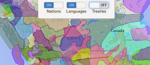 Maps Mania: The Canadian First Nations Map
