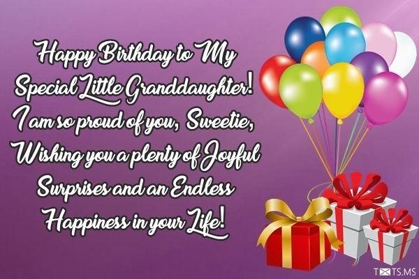 happy birthday granddaughter gif