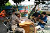 Sebanyak 35 Pelanggar Terjaring Petugas Gabungan Satpol-PP Kecamatan Tambora, Dalam Operasi Protkes