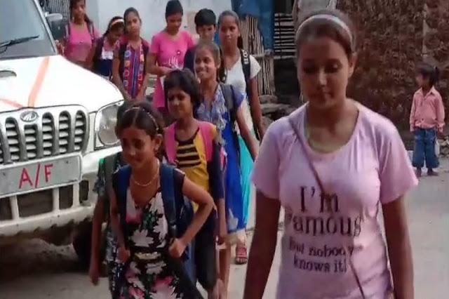 गरीब बच्चों को मुफ्त शिक्षा देने वाली अनीशा को सम्मानित करेंगे राष्ट्रपति कोविंद - newsonfloor.com