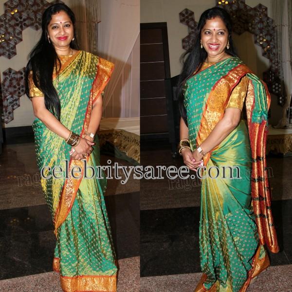 Anitha Chowdary Silk Saree