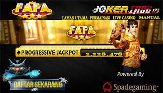 Situs Slot Online Fafaslot Gaming. Slah satu permainan game online yang sungguh tenar sekali di indonesia saat ini ini yaitu fafaslot