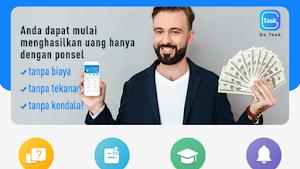 Go Task/ Good earn Apk Baru Rilis Pengganti Goins Penghasil uang Dana Gratis 2020