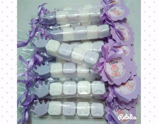 souvenirs bautizo comunion boda jabones nombre jabón