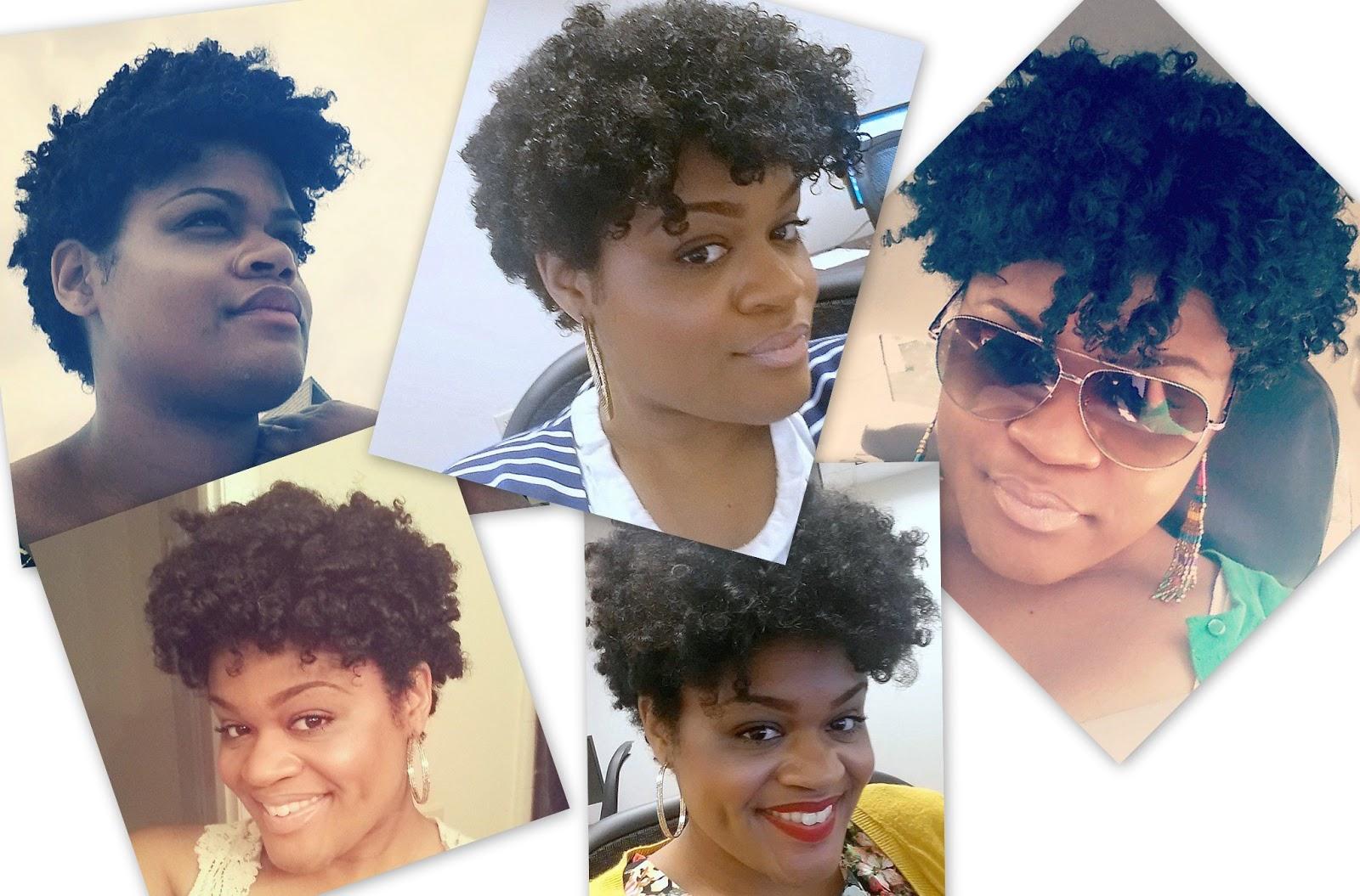 Natural Hair Styling Short Natural Hair Fabellis