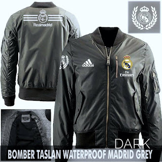 Jaket Bomber Jokowi Real Madrid