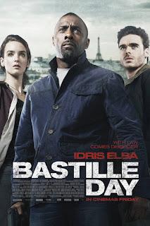 Bastille Day - Segundo Poster & Dois TV Spots