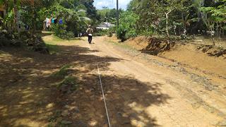 Pembangunan Cor Jalan Dusun Sukasari RT 03/RW 05 Tahun Anggaran 2020