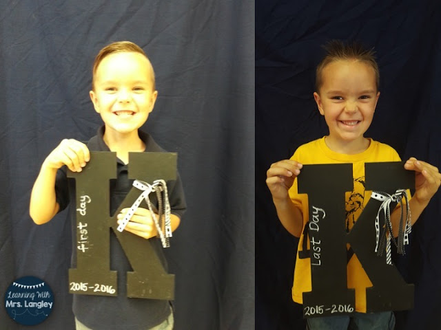 Here are some simple tips for taking pictures on the first day of school in your kindergarten classroom. The first day is hectic but you want to capture a perfect picture for parents. This simple chalkboard sign idea and backdrop hack will help make it easy!
