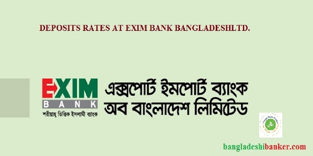 Deposit Rates at EXIM Bank Ltd.
