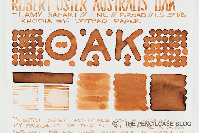 INK REVIEW: ROBERT OSTER AUSTRALIS LIMITED EDITION