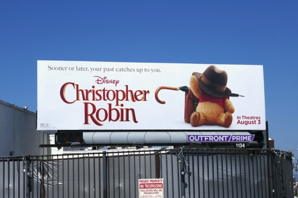 Disney Christopher Robin billboard