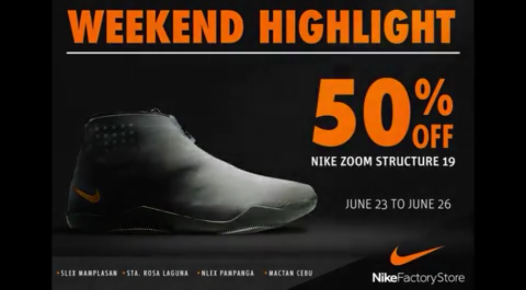 Nike Kobe XI ALT on sale at Nike Factory Store PH