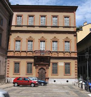 Casa Manzoni was Manzoni's home in Milan until his death in 1873
