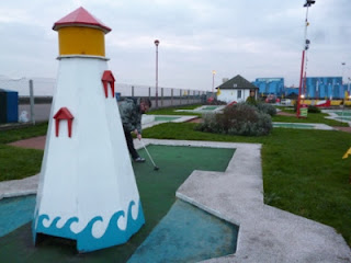 Photo of the Arnold Palmer Minigolf course in Southend-on-Sea