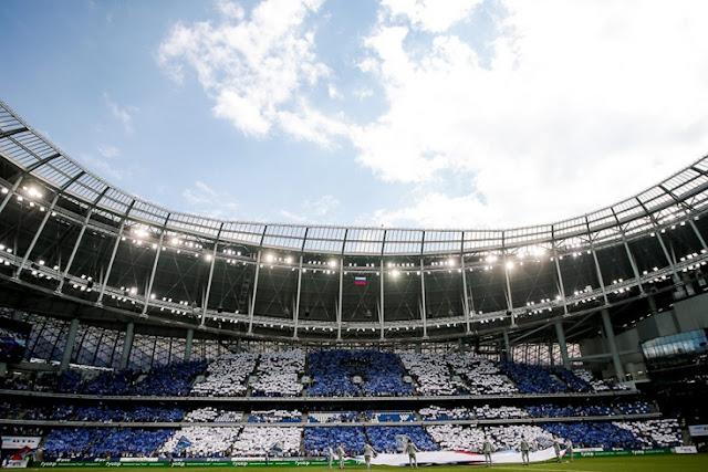Стадион-красавец, дочь Яшина и забег фанатов на поле. Фото «Динамо» — «Арсенал»