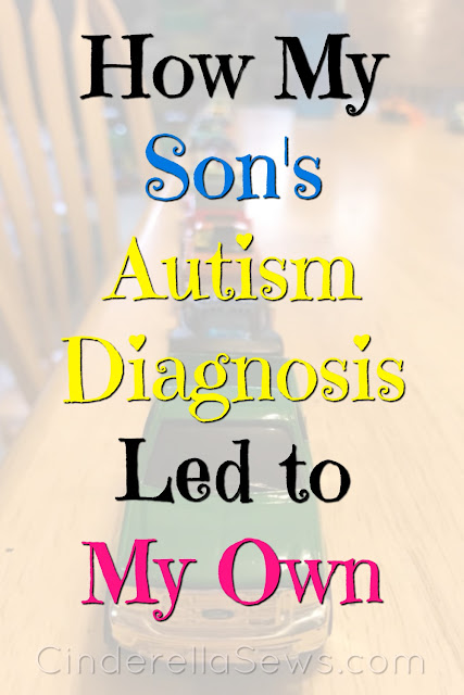 How my son's autism diagnosis led to my own and signs of autism in young girls. Click to read our story and how late and self-diagnosis can be so eye-opening for many adults and parents who have struggled with needing acceptance #autism #actuallyautistic #autismacceptance #neurodivergency #neurodivergent