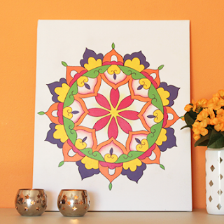 DIY Mandala Canvas