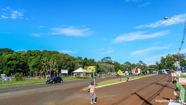 Avenida das Cataratas, Foz do Iguaçu, Brasil