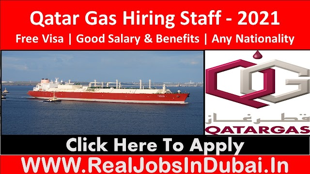 Qatar Gas Jobs Vacancies In Qatar 2021