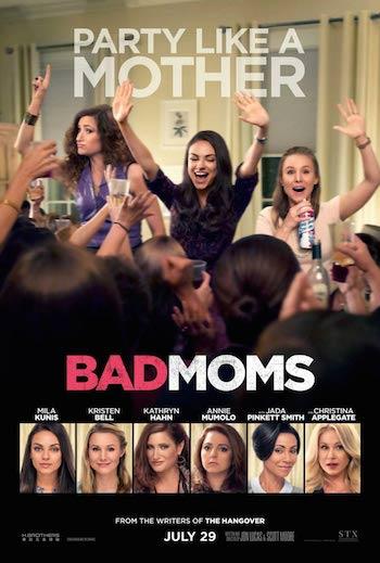 Bad Moms 2016 BRRip 720p x264 900MB
