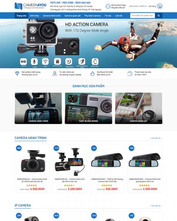 Mẫu Web Camera