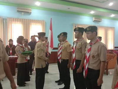 Dewan Racana Pramuka Perti UISU Medan Dilantik