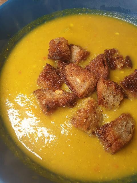 Zupa krem z marchewki i cukinii