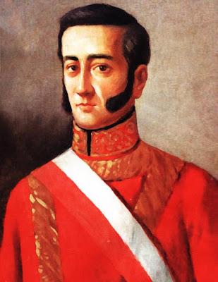 Retrato del marqués de Torre Tagle a colores