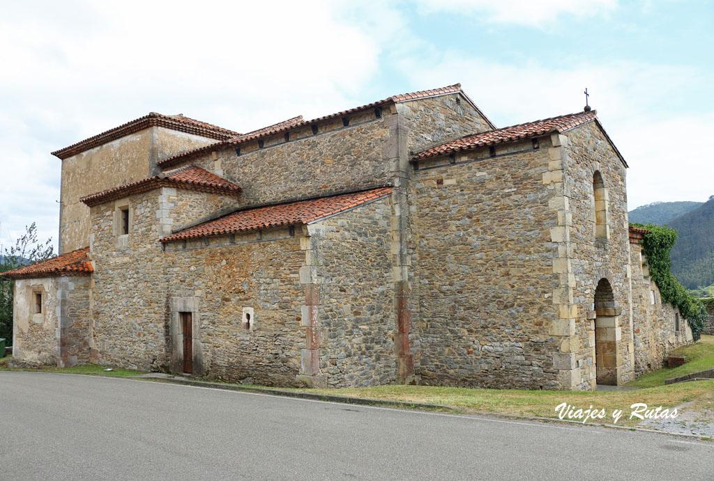 Iglesia prerrománica de San Juan de Santianes