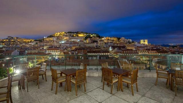 Vida noturna em Lisboa