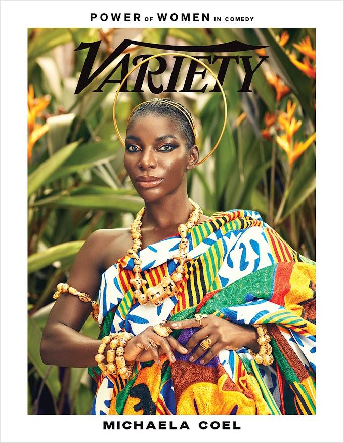 Michaela Coel covers Variety Magazine