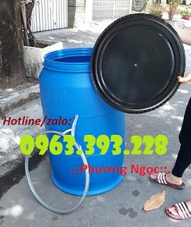 Thùng phuy nhựa nắp mở, thùng phuy nhựa đựng thực phẩm 66466303_1072211432970841_2162987174268502016_n
