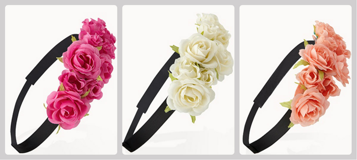 My Small Obsessions  How to wear Floral Headbands efc84733027